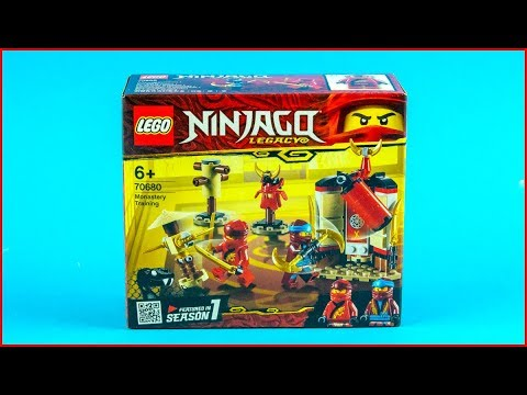 LEGO NINJAGO 70680 Monastery Training Construction Toy - UNBOXING