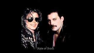 State of Shock - Michael Jackson and Freddie Mercury - Underlanced!!