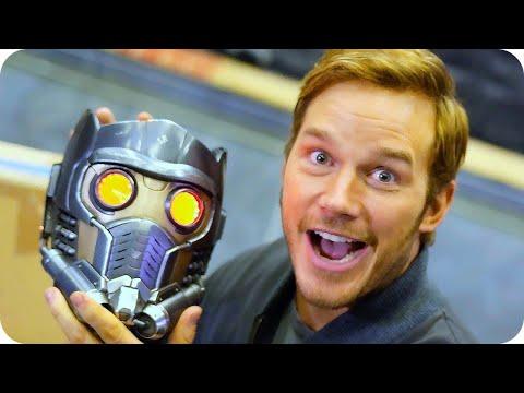 Chris Pratt Shows You Around the Set of Guardians of the Galaxy Vol. 2 // Omaze