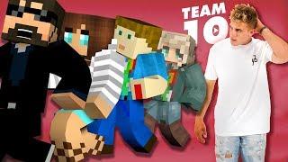 Minecraft: TEAM 10 MURDER   MODDED MINI-GAME