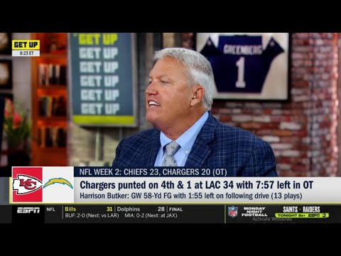 Rex Ryan AMAZED Chargers' 23-20 loss to the Kansas City Chiefs, Tyreek Hill and Mahomes' epic show