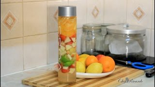 Healthy Fruit Flavored Water | Recipes By Chef Ricardo