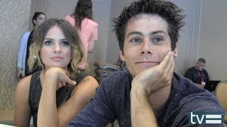 Дилан О'Брайен, Teen Wolf Season 4: Dylan O'Brien & Shelley Hennig Interview