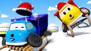 Игорь и Малыш Игорь катаются на санках! 🚚 Обучающий мультфильм для детей