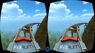 Видео для виртуальных очков катание на аттракционах 3D Gameplay Virtual Reality video