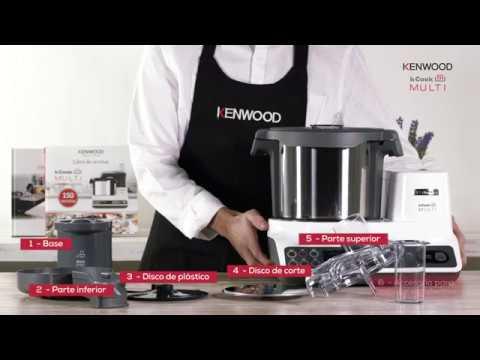 Vídeo Cápsula kCook Multi de Kenwood -Direct Prep-