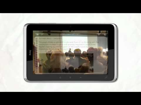 HTC Flyer Official Presentation and Demo