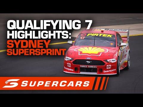 2020年 SUPERCARS シドニースーパースプリント #race7 予選ハイライト動画