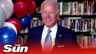 Joe Biden declared official Democratic presidential nominee