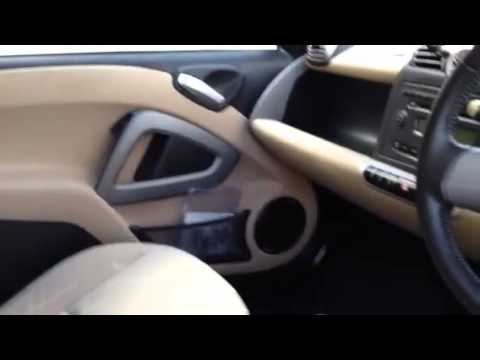 Smart ForTwo 451 CDi PASSION INTERIOR REVIEW TEST WALK AROUND - diesel