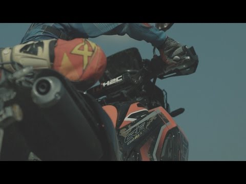 Honda CRF250 Rally 2017 test drive