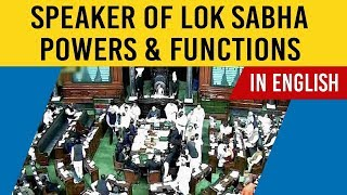 Powers & Functions of Speaker of Lok Sabha explained, All you need to know about Lok Sabha Speaker