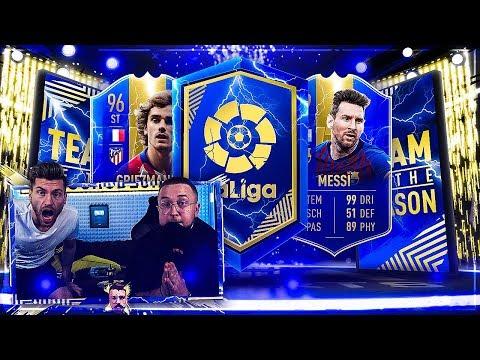 FIFA 19: LaLiga TOTS PACK ESKALTION mit WL Schwitz !!