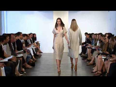 Calvin Klein Collection Resort 2011 Runway Show - презентация одежды Calvin Klein