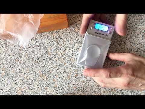 A03 мини-высокоточные ювелирные весы 0.001g-10 г