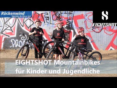 EIGHTSHOT Mountainbikes für Kinder und Jugendliche