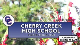 Cherry Creek High School Graduation  |  2020