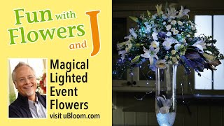 Lighted Special Event Arrangements