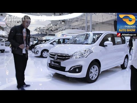 FI Review New Suzuki Ertiga Facelift 2015 on GIIAS 2015