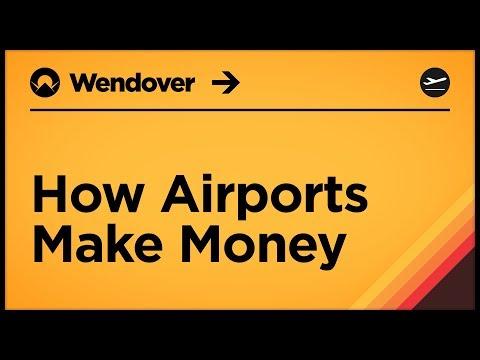 Jak letiště vydělávají peníze