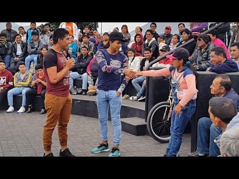 PINKY Y LLANINI ENAMORANDO A LA LOCA! (1 de 2) - Comicos Ambulantes 2016