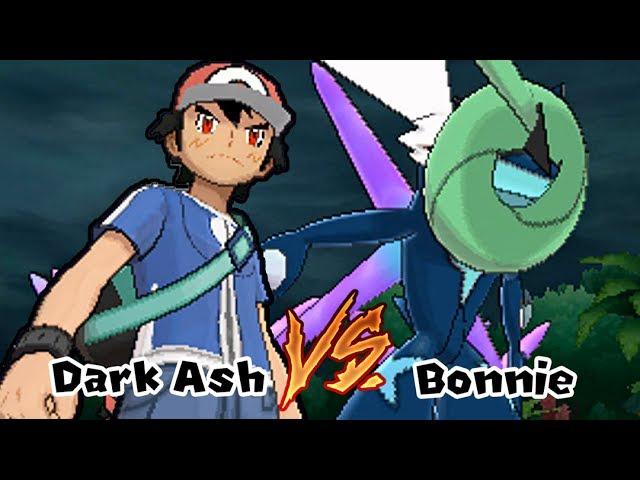 Pokemon Battle Challenge 12 | Dark Ash Vs Adult Bonnie (Game