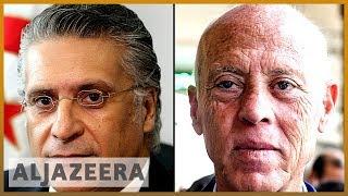 Tunisia election: Two non-establishment candidates claim lead