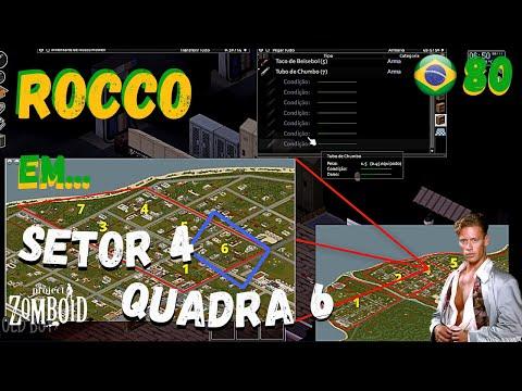 Project Zomboid || Rocco || Setor 4 Quadra 6 || Build 41 || Episodio 80 || Sector 4 Block 6 || PT80