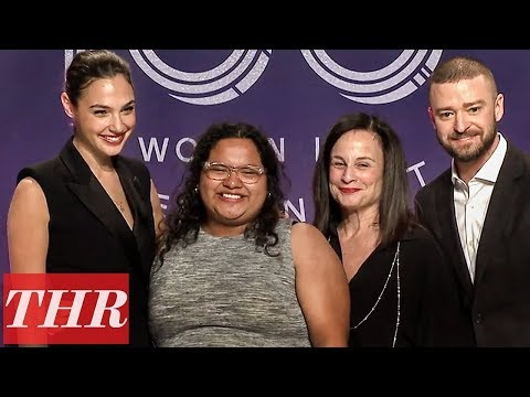 Gal Gadot Presents Wonder Woman Scholarship at The Hollywood Reporter's Women in Entertainment 2017