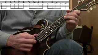 """Mandolin Lesson: """"Over The Waterfall"""" -- Not So Easy"""