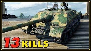 WZ-120-1G FT - 13 Kills - World of Tanks Gameplay