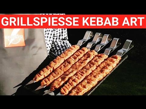 ♨️ GRILLBLITZ: Leckere Grillspieße Kebab Art, perfekt vom Gasgrill, BBQ Tutorial