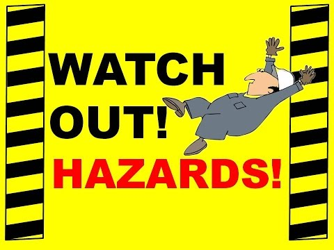 Watch Out! Hazards! - Prevent Slips Trips And Falls - Safety Training Video