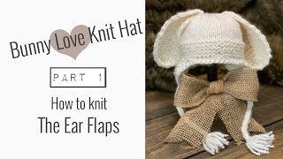 How to KNIT EAR FLAPS for HAT (0-3 month)