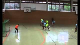 preview picture of video 'Futsal Sport-Club Philippsburg - Futsal Nova Club Karlsruhe Halbzeit 2'