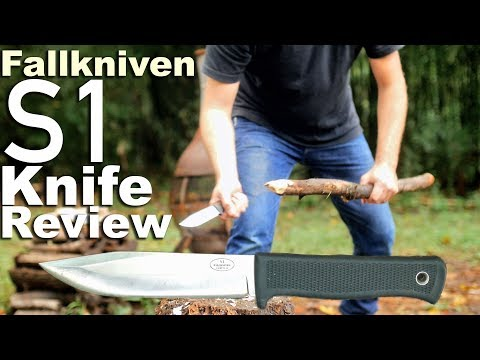 Fallkniven S1 Knife Review.  Beating on the Classic Outdoor Survival Knife.