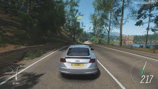 Forza Horizon 4 PC Demo - Audi TTS Coupe Gameplay