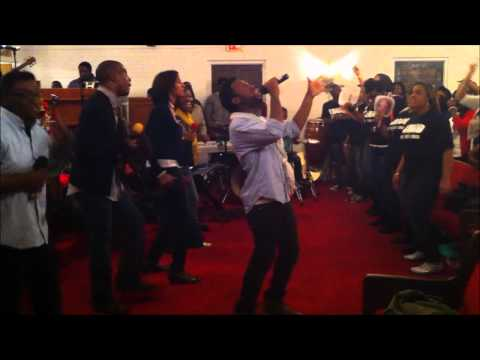 """Expressed Glory singing """"The Name of Jesus is Lifted High"""""""