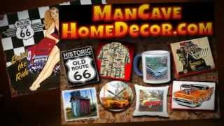 Man Cave Home Decor For Car Guys