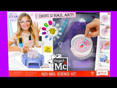 Project MC2 H2O Nail Science Kit - I Make Nail Art!