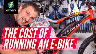 How Much Does It Cost To Run An Electric Mountain Bike? | E Bike Yearly Costs