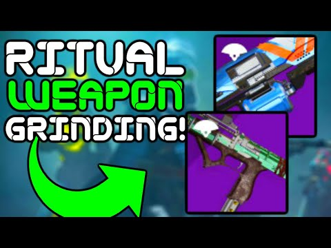 Destiny 2 - RITUAL Weapon GRINDING!! Road to 50k Subs!!