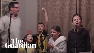 Family's lockdown adaptation of Les Misérables song goes viral
