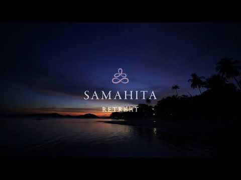Yoga im Samahita Retreat Center am Strand auf Koh Samui