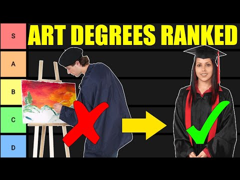 , title : 'Art Degree Tier List (Art Majors RANKED!)