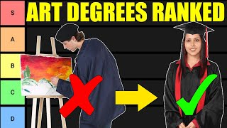Art Degree Tier List (Art Majors RANKED!)
