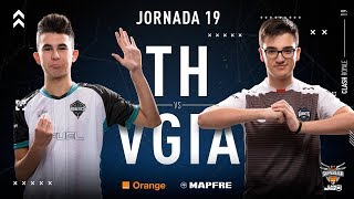 Team Heretics VS Vodafone Giants | Jornada 19 | Temporada 2018-2019