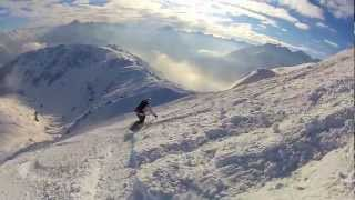 preview picture of video 'GoPro Hero HD Mayrhofen Austria 2013 Ski Snowboard'