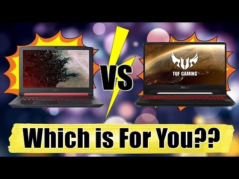 Acer Nitro 5 Ryzen VS Asus TUF FX505DY - Best Gami | Youtube