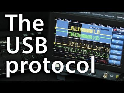 How does a USB keyboard work?